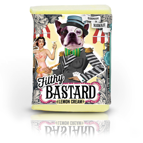 Filthy Bastard Soap - Lemon Cream