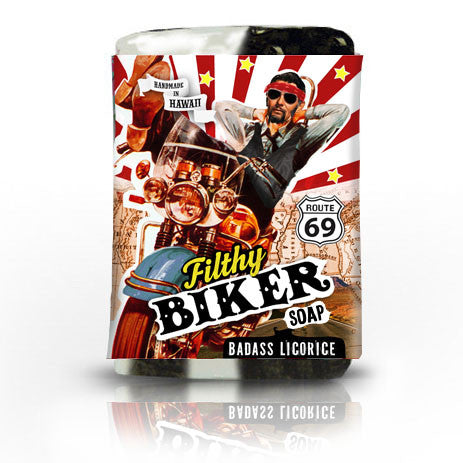 Filthy Biker Soap - Badass Licorice