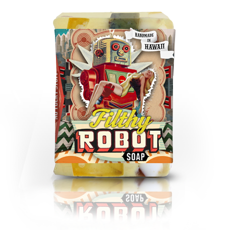 Filthy Robot Soap - Cyber Mint Spice