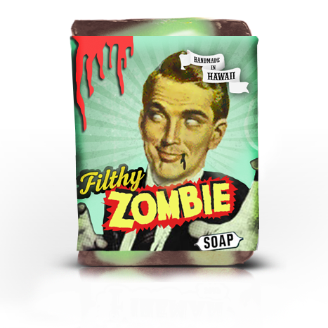 Filthy Zombie Soap