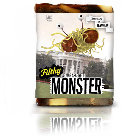 Flying Spaghetti Monster Soap