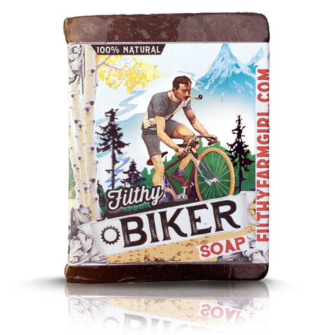 Filthy Mountain Biker Soap