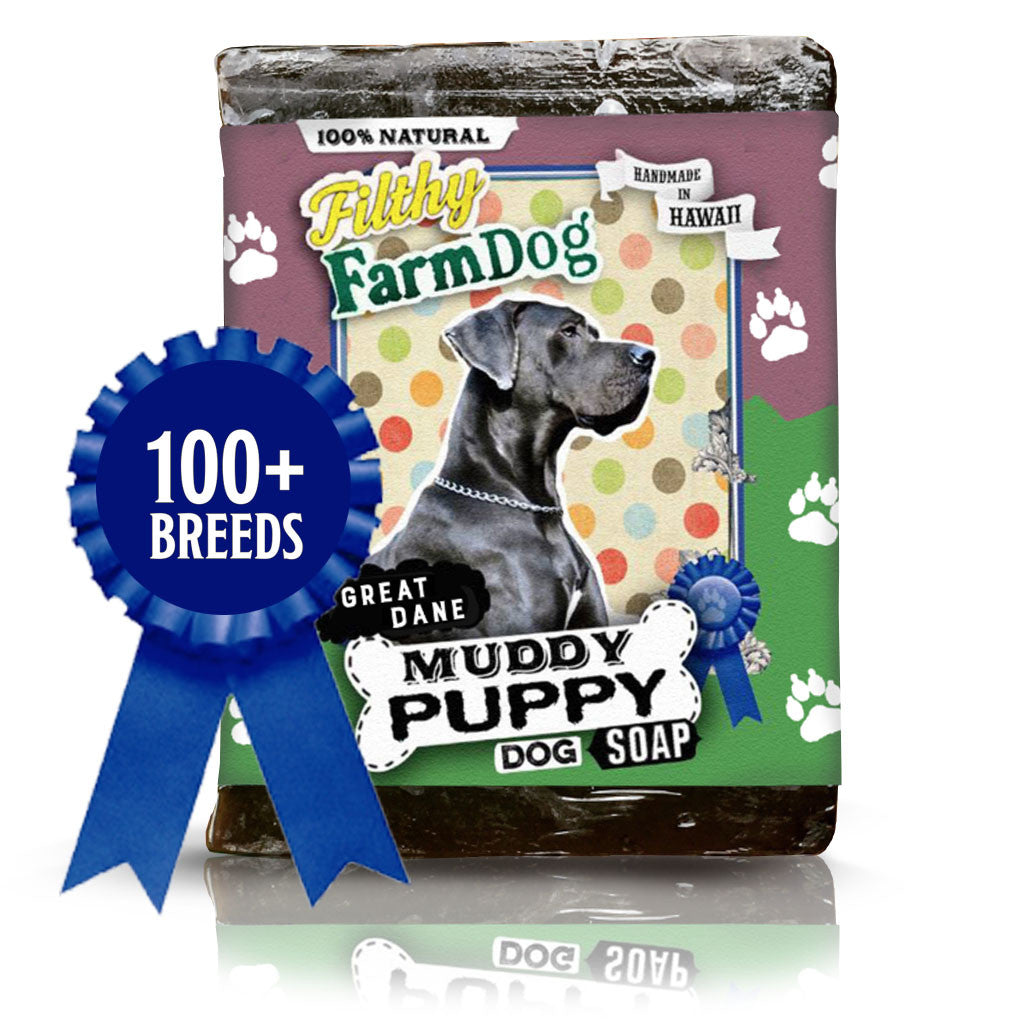 Muddy Puppy Dog Soap