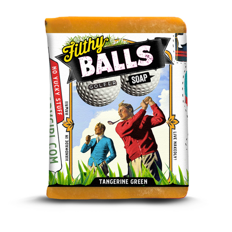 Filthy Balls Golfer Soap