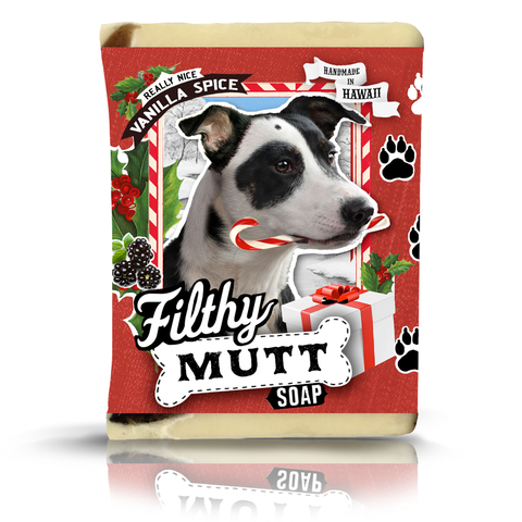 Filthy Mutt Xmas Dog Soap