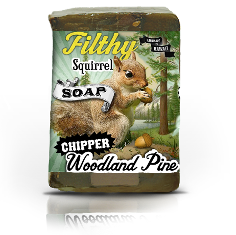 Filthy Squirrel-Chipper Woodland Pine