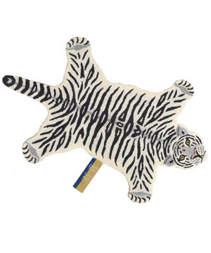 SNOWY TIGER RUG SMALL/LARGE