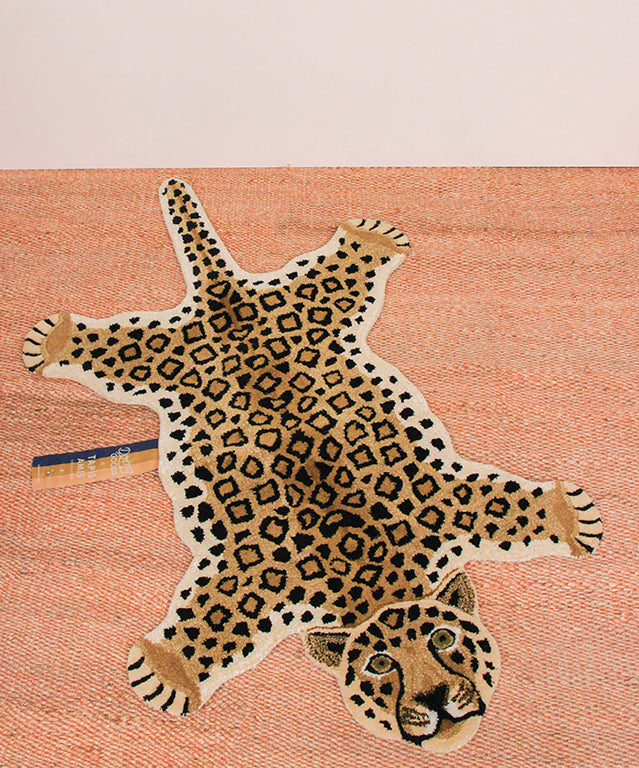 LOONY LEOPARD RUG LARGE
