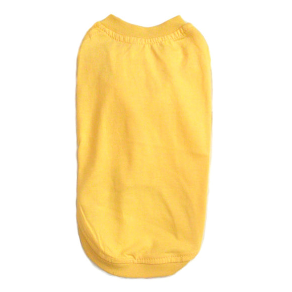 Cat T-Shirt - Yellow Cat T-shirts | Clothes for Cats