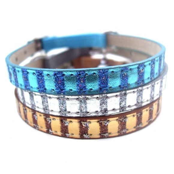 Metallic Striped Cat Kitten Collars Cat Collars | Clothes for Cats