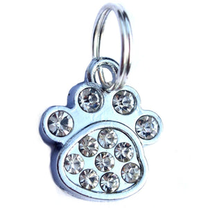 Crystal Paw Cat Collar Charms - Clothes for Cats