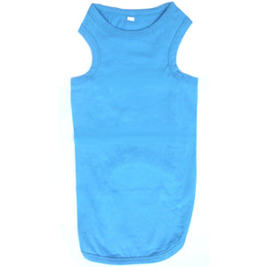 Cat Vest Top - Aqua Blue - Clothes for Cats