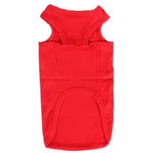 Cat Vest Top - Red Cat Vests | Clothes for Cats