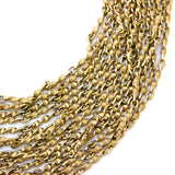 D is for Drape of Golden Chains