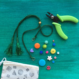 DIY Necklace Kit / GREEN