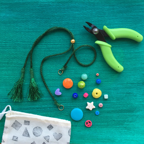 DIY Necklace Kit PRE-ORDER / GREEN