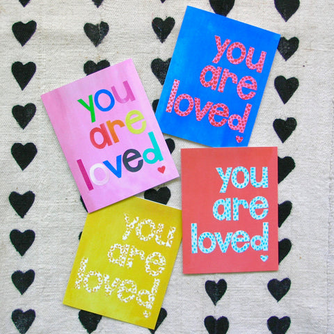 Note Card Set - You Are Loved