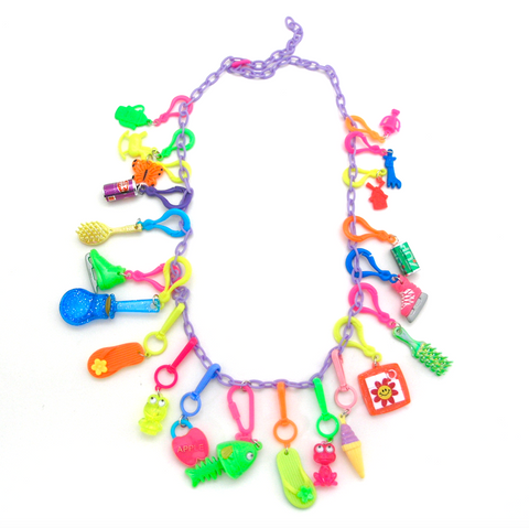 Retro Charm Necklace