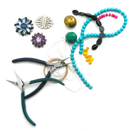 Thursday, March 3rd: Birthstone Charm Necklace Workshop