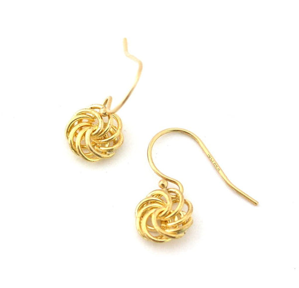 Love Knot Earrings-small