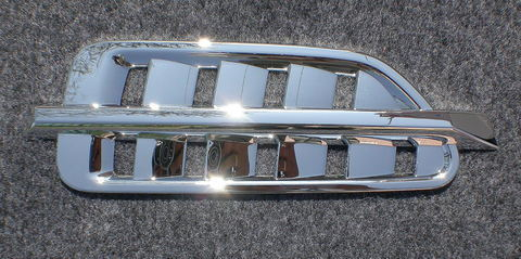 Chrome Fender Vent