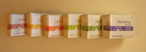 Clean Earth Soap Sampler