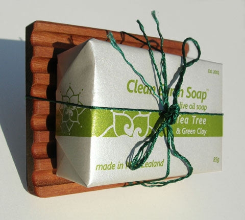 Clean Earth Soap with Soap Dish
