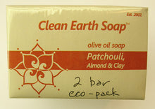 Patchouli, Almond & Clay - normal to dry skin
