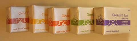 The Clean Earth Soap sampler