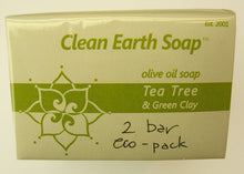 Tea Tree & Green Clay - normal to oily skin
