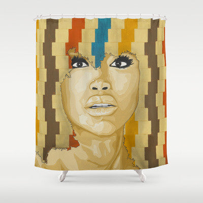 Badu Shower Curtain