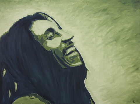Marley Oil Painting by Andre Woolery