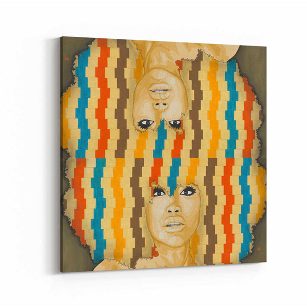Badu - The Remix Canvas Print