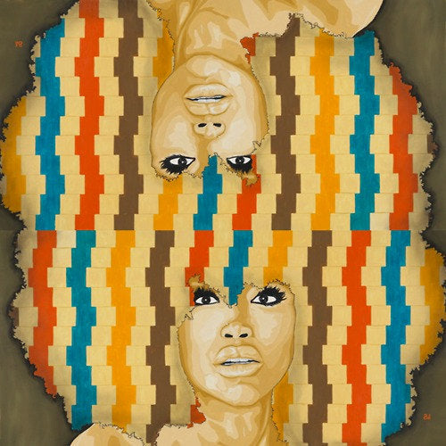 Badu Remix by Andre Woolery Art