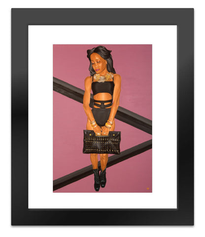 Freedom of Expression, Rude Gyal Canvas Print