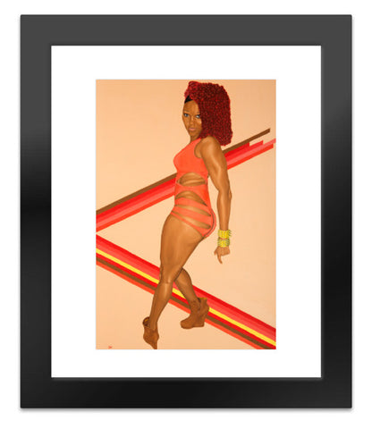 Freedom of Expression, Hot Gyal Canvas Print