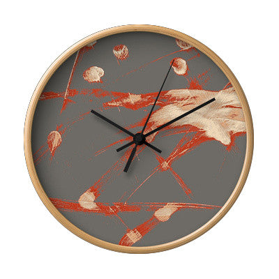 Fruit Ninja Wall Clock