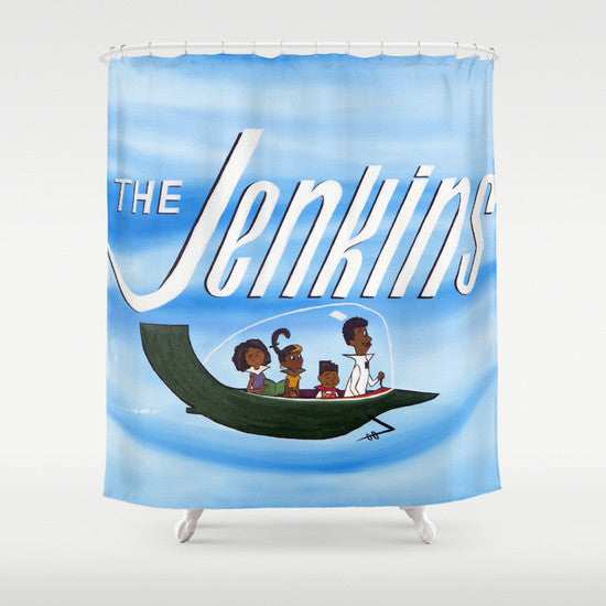 """The Jenkins"" Shower Curtain"