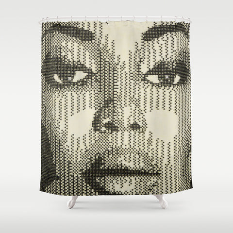 Patterns of Beauty Naomi Shower Curtain