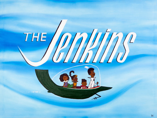 """The Jenkins"" Canvas Print"