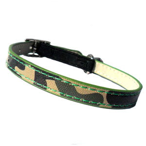 Cat Collars Army Camo Cat Collar - Prince & Princess Designer Petwear