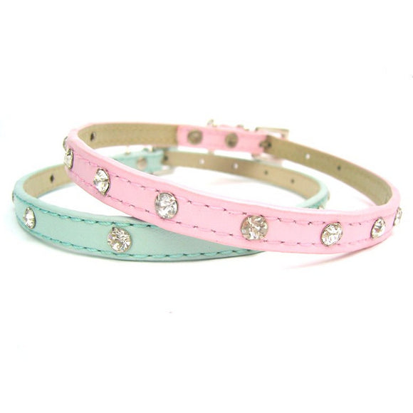 Dog Collars Baby Rhinestone Dog Collars - Prince & Princess Designer Petwear