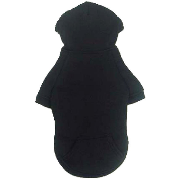 Cat Clothes NEW SIZES Cat Hoody - Black - Prince & Princess Designer Petwear