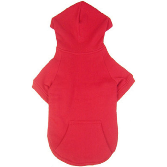Cat Clothes Cat Sweatshirt Hoody Red - Prince & Princess Designer Petwear