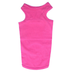 Cat Clothes Cat Vest Top - Pink - Prince & Princess Designer Petwear
