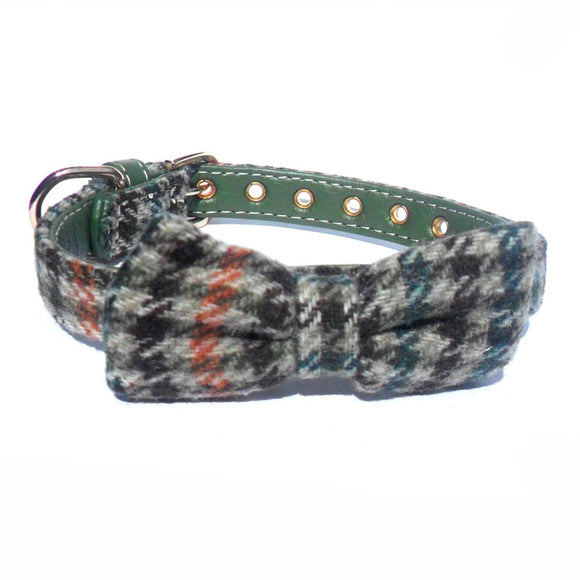 Highland Bow Dog Collar