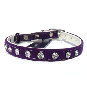 Cat Collars Majestic Crystal Cat Collar - Prince & Princess Designer Petwear