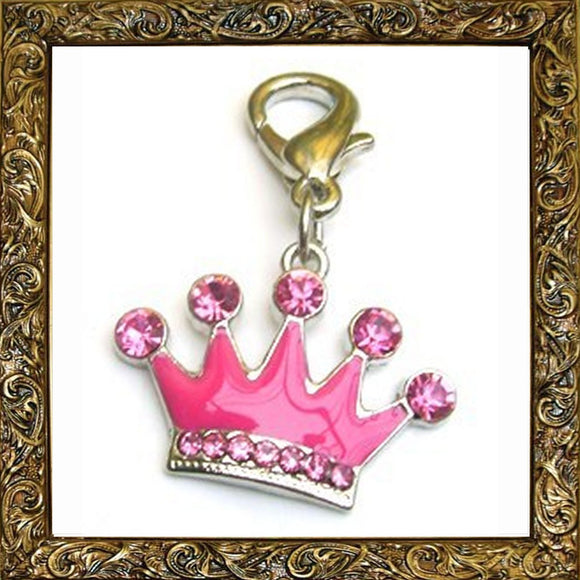 Charms Princess Crown Pet Charm - Prince & Princess Designer Petwear