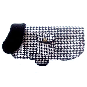 Dog Clothes Houndstooth Dog Coat Jacket - Prince & Princess Designer Petwear