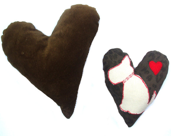 Dog Toys Personalised Name Heart Dog Toys - Prince & Princess Designer Petwear